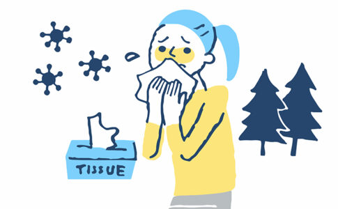 花粉症イラストイメージ
