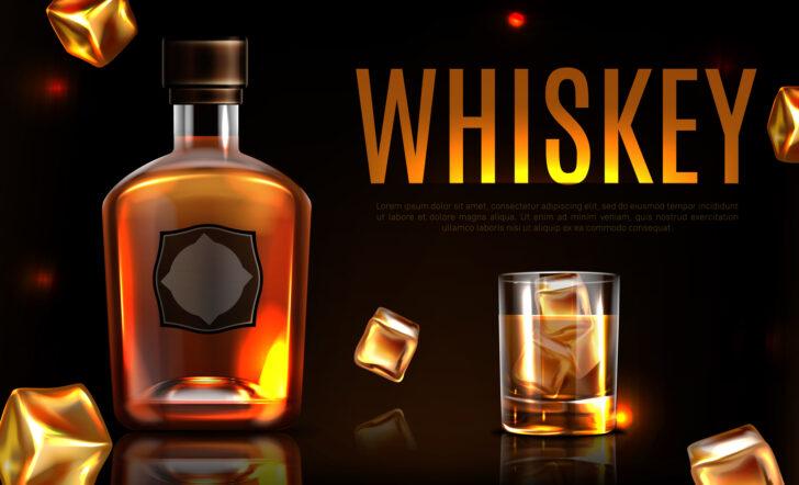 ウイスキーのイラスト