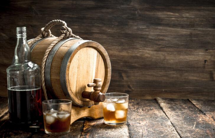 ウイスキーと樽
